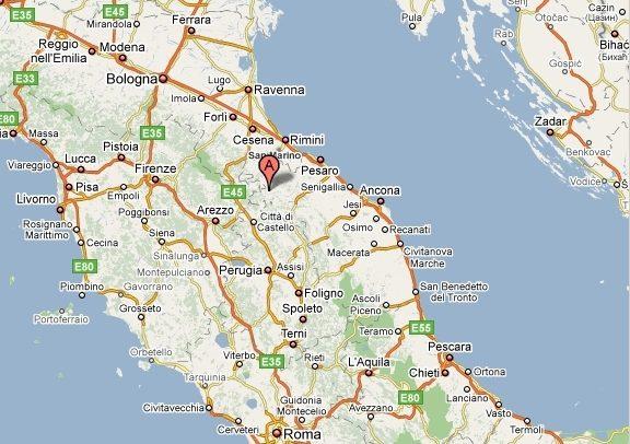 Cartina Geografica Provincia Di Pesaro Urbino.Dove Siamo